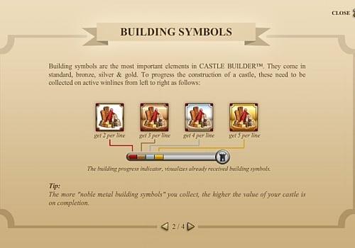 Правила игры в аппарате Castle Builder