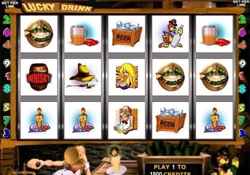 Игровые автоматы на реальные деньги с выводом на карту - Lucky Drink