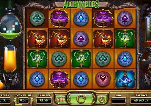 Игровые автоматы с выводом денег на карту — Alchymedes
