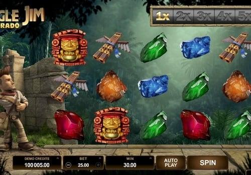 Игровые автоматы с выводом денег на карту - Jungle Jim El Dorado